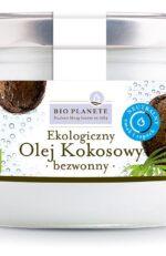 Sklep internetowy oferujący  OLEJ KOKOSOWY BEZWONNY BIO 400 ml - BIO PLANETE